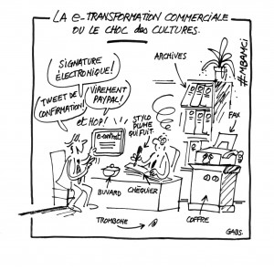 La e-transformation commerciale ou le choc des cultures