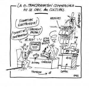 La e-transformation commerciale ou le choc des cultures
