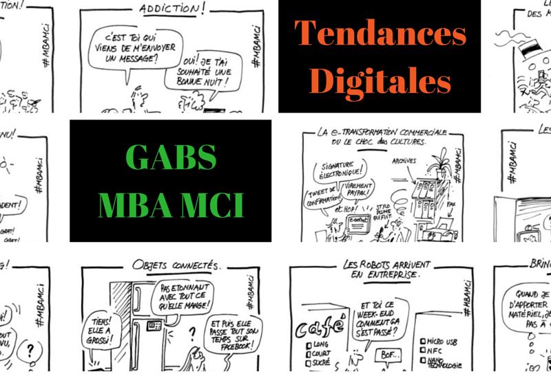 10 dessins sur l'entreprise et le digital