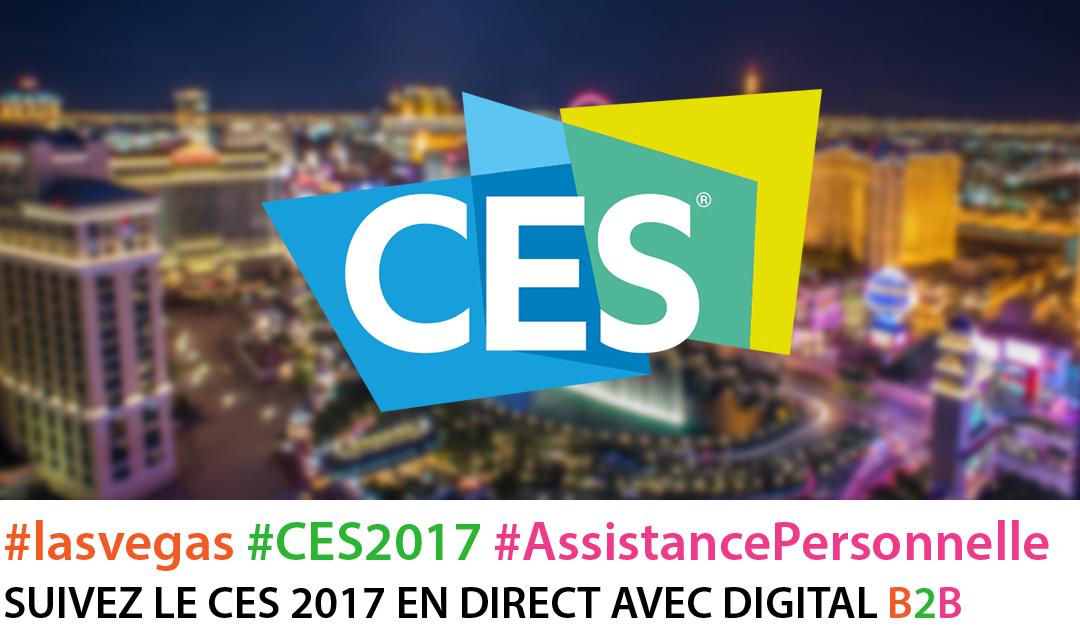 #CES2017  Carton plein pour l'assistance personnelle vocale