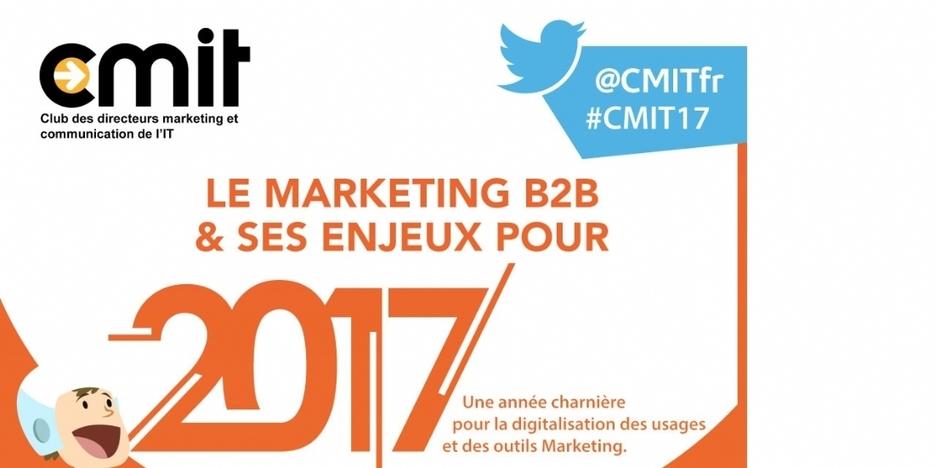 Les enjeux du marketing BtoB en 2017 – Social marketing