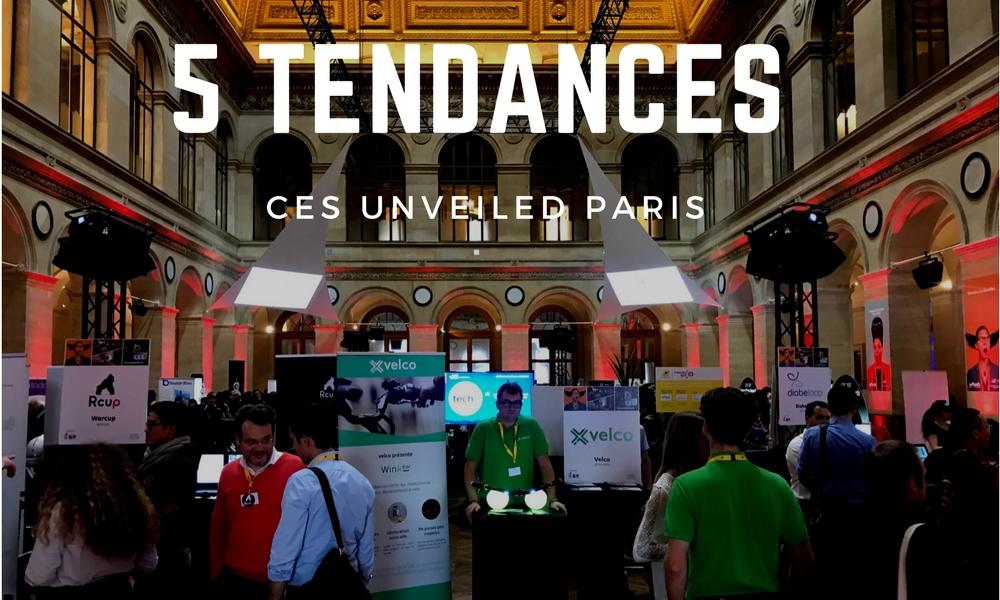 DigitalB2B était au CES© Unveiled Paris | Les tendances du CES 2018