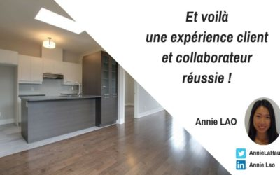 Expérience client et collaborateur réussie, un exemple à suivre